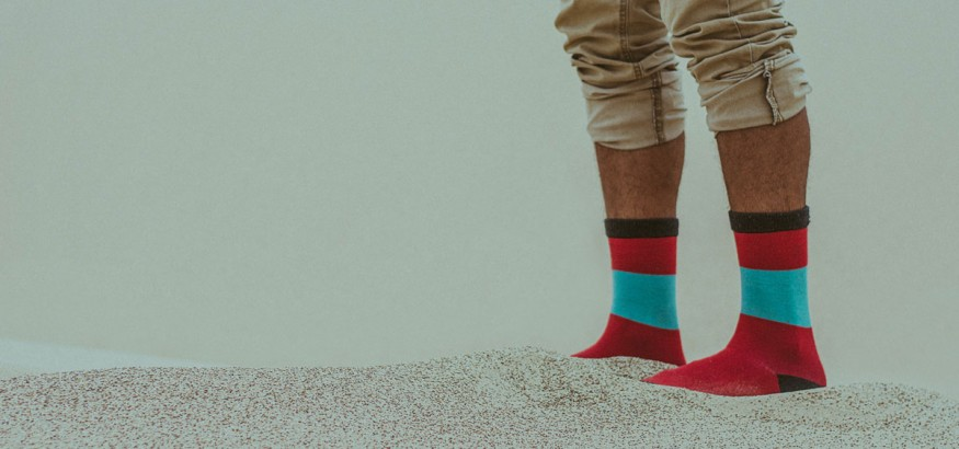 Workplaces embrace custom dress socks in the 21st century