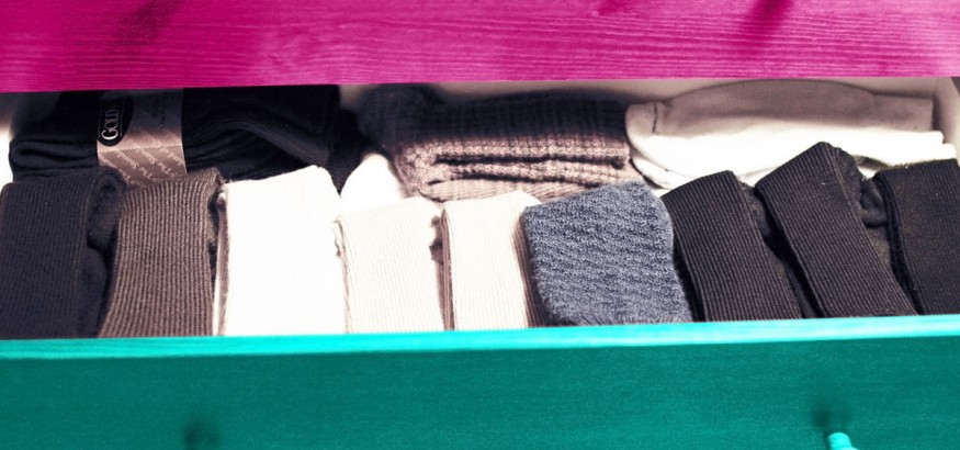 Customize your sock drawer to quickly find what you're looking for