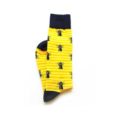 Custom dress socks in mid-calf length