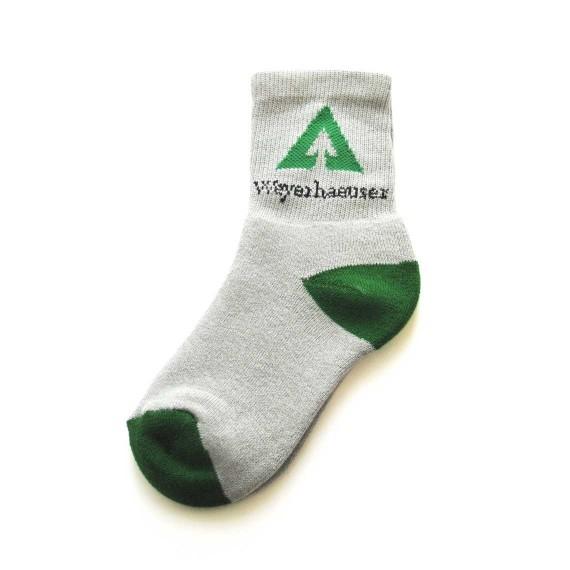 Custom sport socks in quarter length