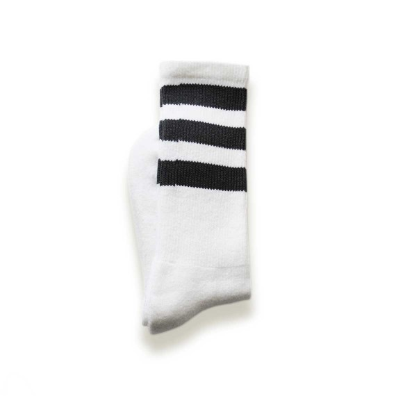 Custom tube socks in mid-calf length