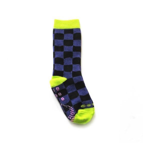 Custom baby socks in mid-calf length