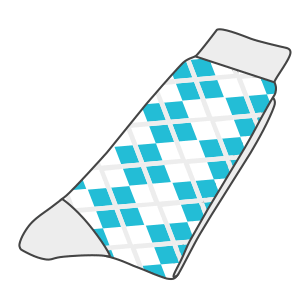 Pre-production sock sample